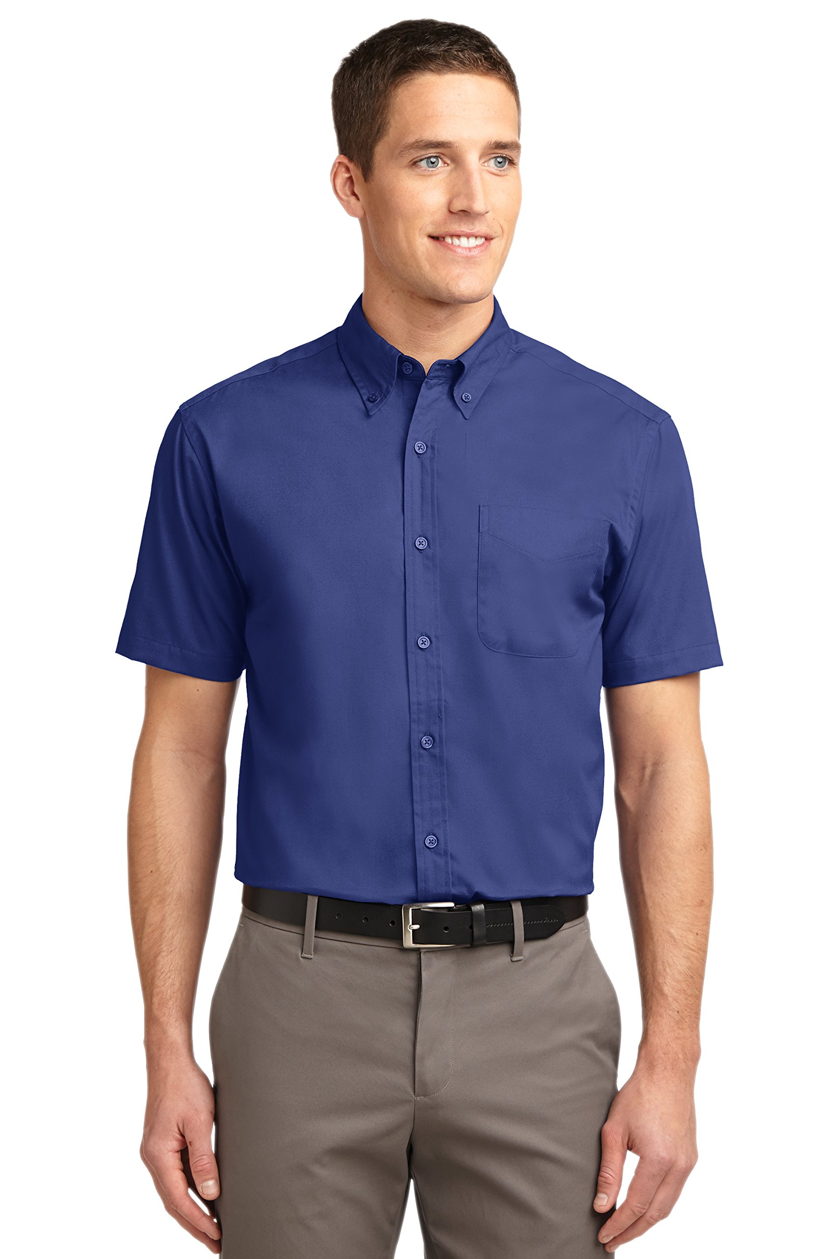 Easy Care Short Sleeve Port Authority Mens Shirt