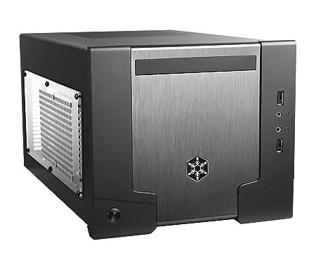 Silverstone SST-SG07B-W USB 3.0 Boîtier PC en Aluminium + Alimentation 600 W