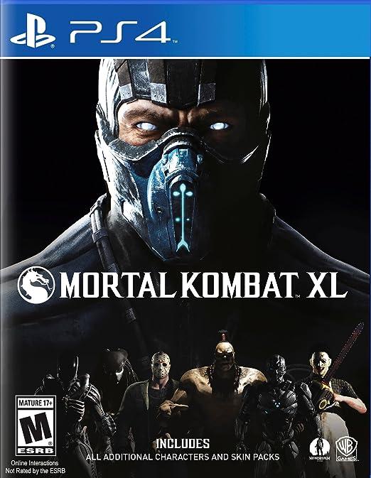 Mortal Kombat XL - PlayStation 4 XL Edition