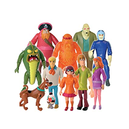 Scooby Doo 10 amis et d'ignorés Collection Action Figure
