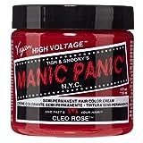 Manic Panic Cleo Rose Bright Magenta Hair Dye 3pk (Color: Cleo Rose, Tamaño: 3 Pack)