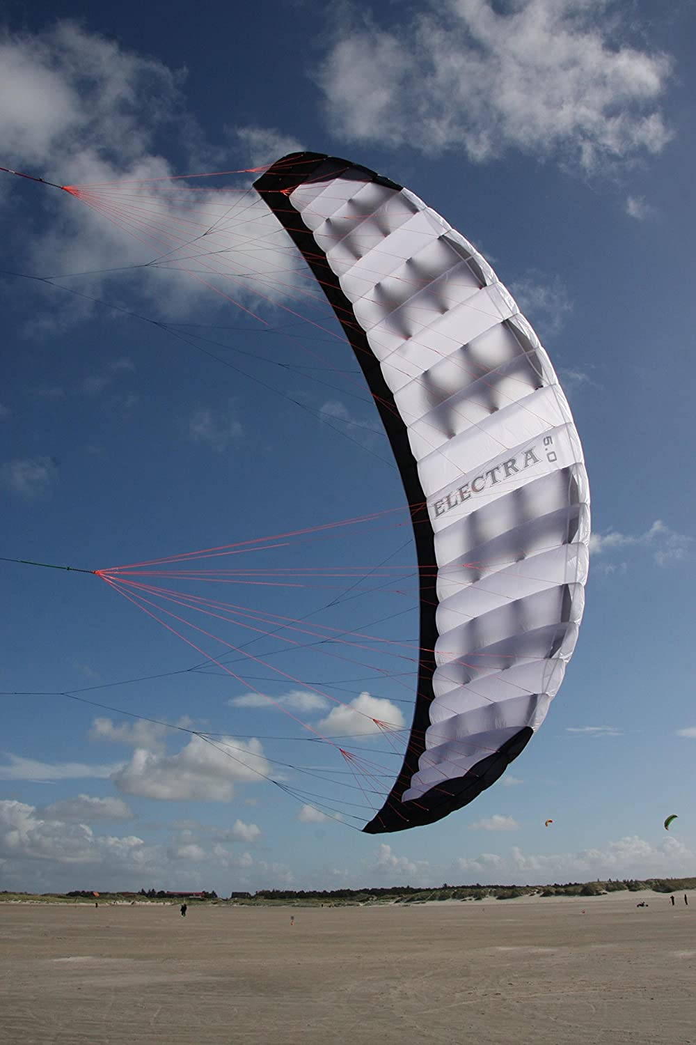 Wolkenstürmer Lenkdrachen Lenkmatte Electra 4.0 Kite Sport Freizeit Drachen