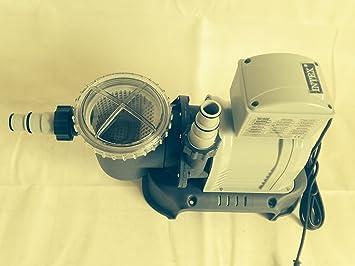 pumpe motor f r sandfilteranlage vorfilter 10000 l h 2. Black Bedroom Furniture Sets. Home Design Ideas