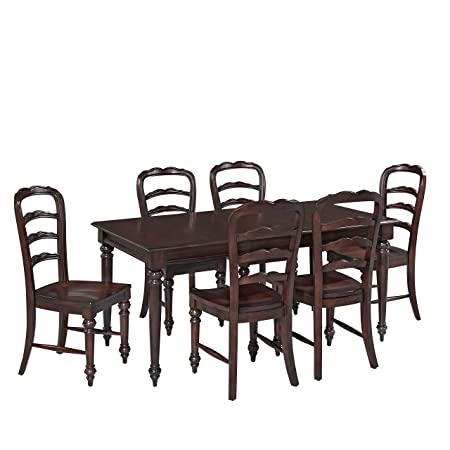 Home Styles Furniture 5528-319 Colonial Classic 7-Piece Dining Set
