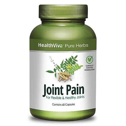 HealthViva Pure Herbs Joint Pain, 60 capsules
