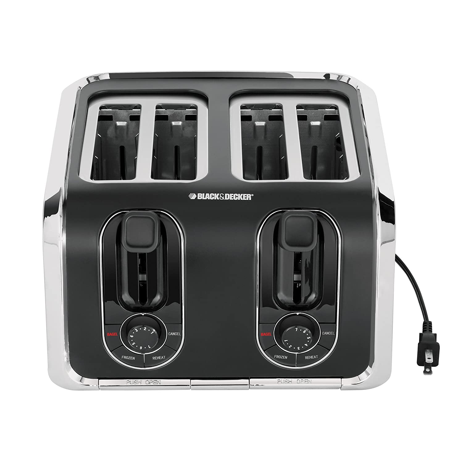 Details about NEW Black and Decker TR1400SB 4-Slice Stainless-Stee l ...