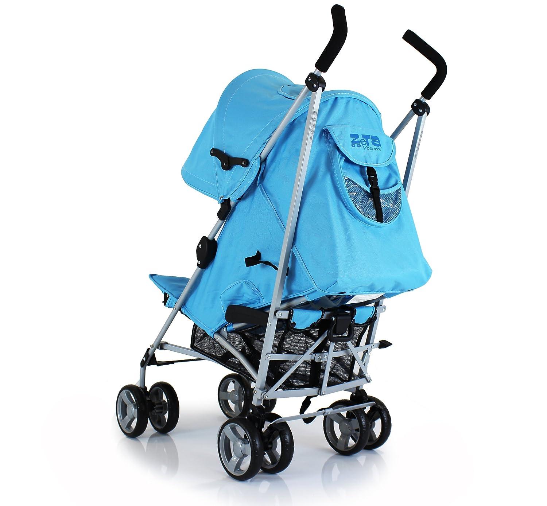 Baby Boy Zeta Vooom Pushchair Pram Stroller Ocean Blue Ebay