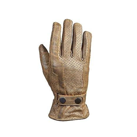 Germas 401. 94-08-parma s gants en cuir marron antique) pour moto, marron, taille s :