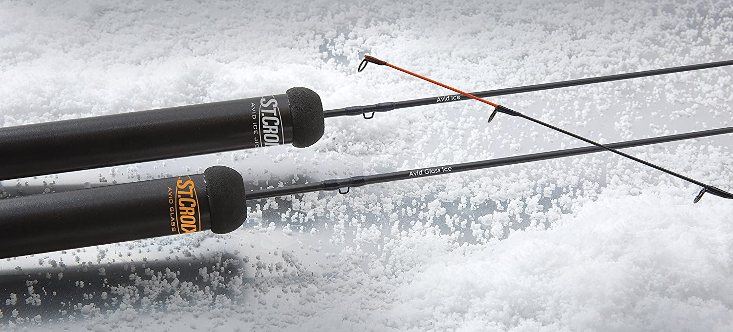 St. Croix - Avid Ice Series Jigging Rod, 30 Medium (AIR30M)