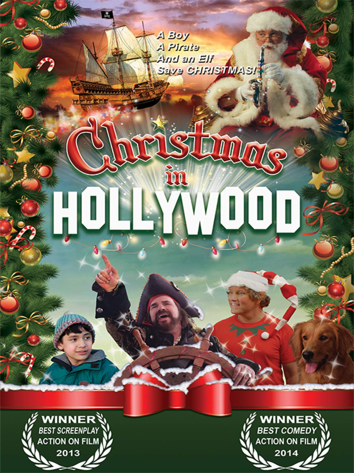 Christmas in Hollywood on Amazon Prime Instant Video UK
