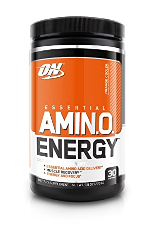 Optimum Nutrition Amino Energy  Orange Cooler, 1er Pack (1 x 270 g)