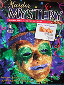 Murder Mystery Party Game - Murder at Mardi Gras review