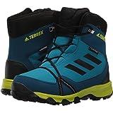adidas Outdoor Unisex-Kids Terrex Snow CP CW K Hiking Shoe, Mystery Petrol/Black/Blue Night, 4.5 Child US Big Kid (Color: Mystery Petrol/Black/Blue Night, Tamaño: 4.5 Child US Big Kid)