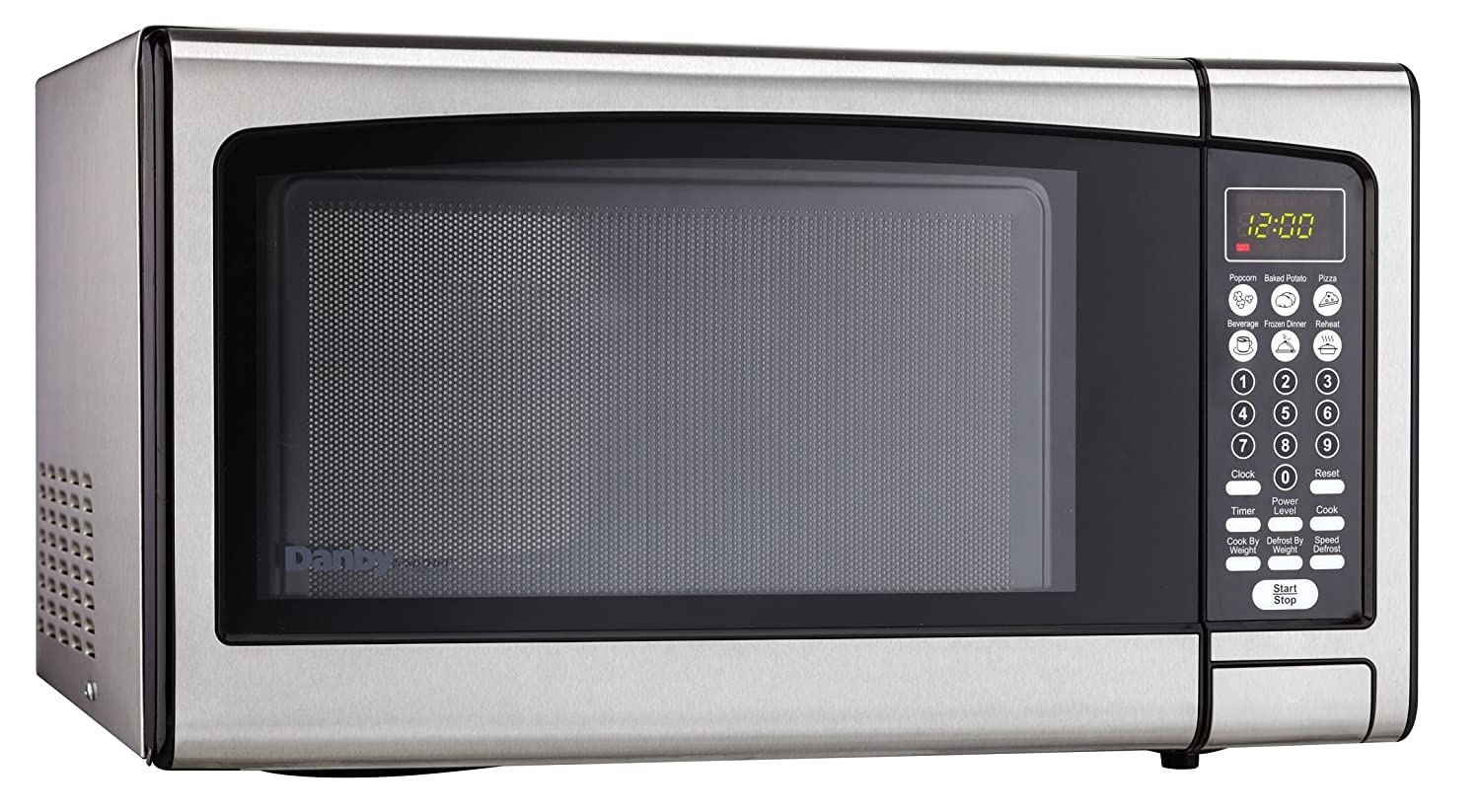 Danby Designer 1 1 Countertop Microwave Stainless Steel New Free Ship