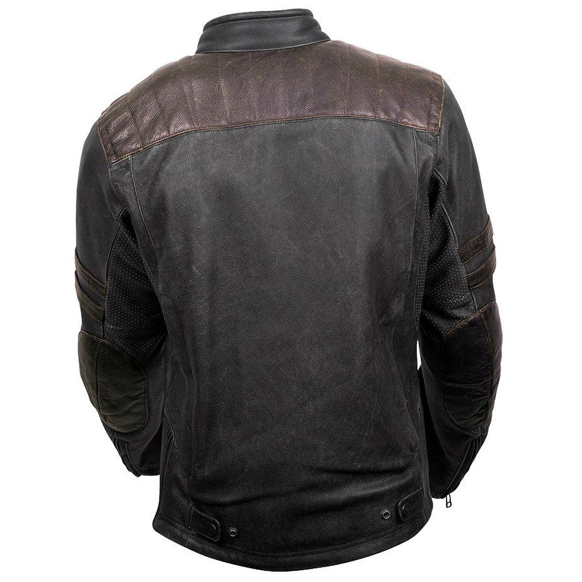 ScorpionExo 1909 Men's Leather Motorcycle Jacket (Brown, Large) 1