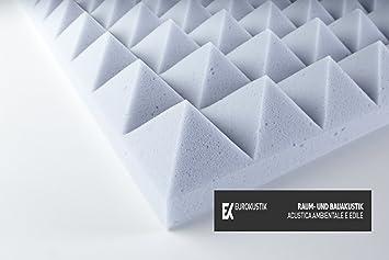 mousse acoustique de de m lamine basotect pyramidale. Black Bedroom Furniture Sets. Home Design Ideas