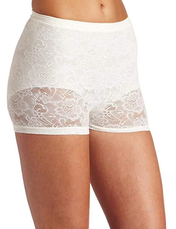 Flexees by Maidenform Women's Fat Free Collection All Lace Boyshort