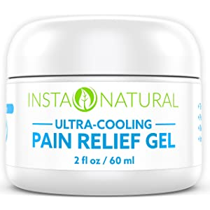 The InstaNatural<sup>™</sup> pain relief gel width=