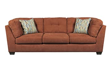 Delta City Rust Sofa