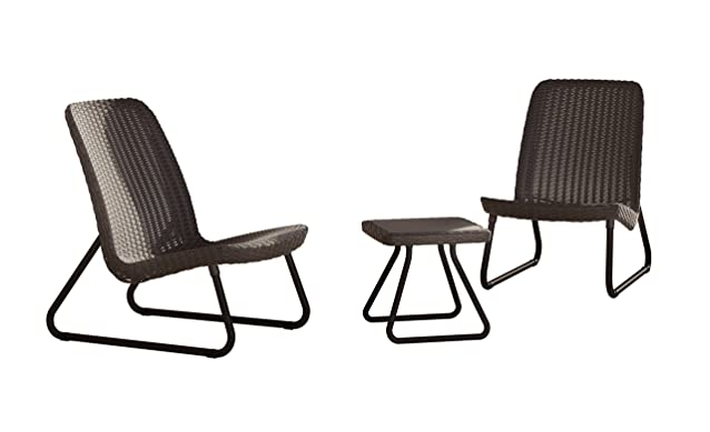 Allibert 211426 - outdoor furniture sets (Brown, Polypropylene (PP))
