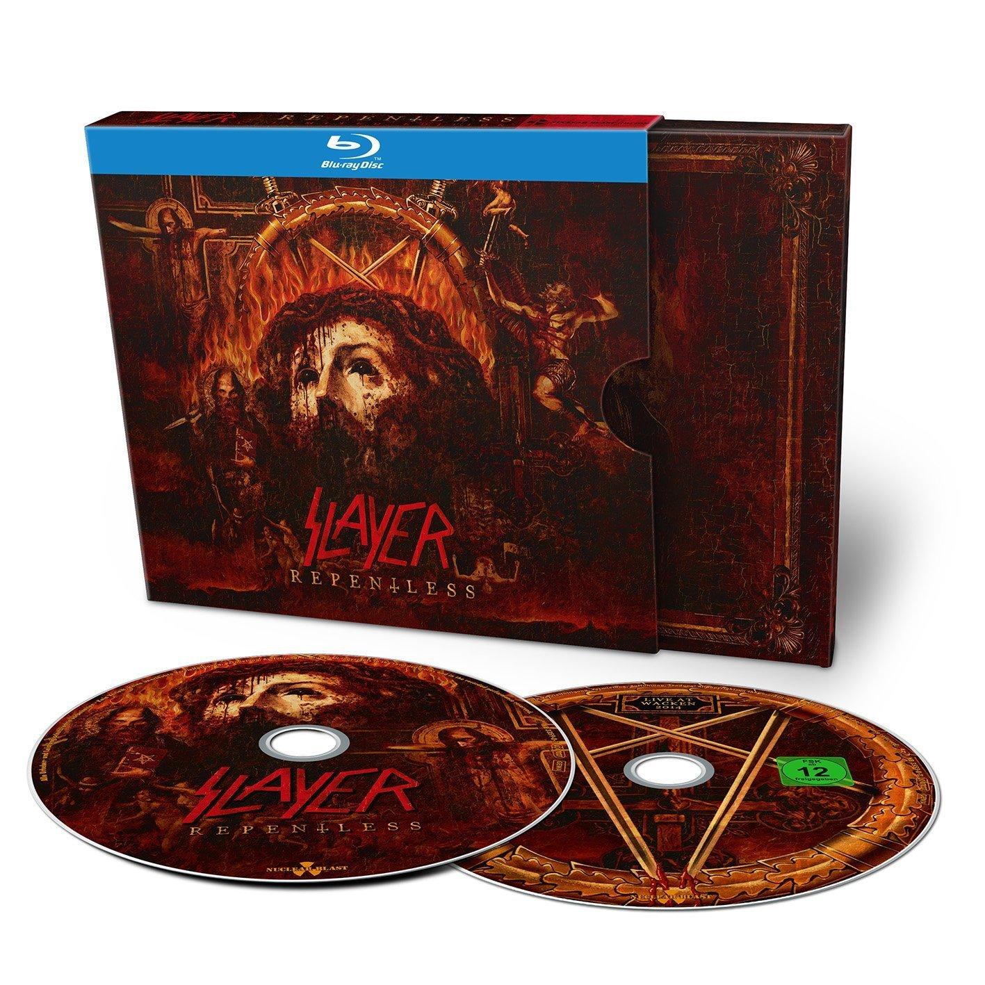 Slayer Repentless Live At Wacken (2014) 720p+1080p MBluRay x264-TREBLE