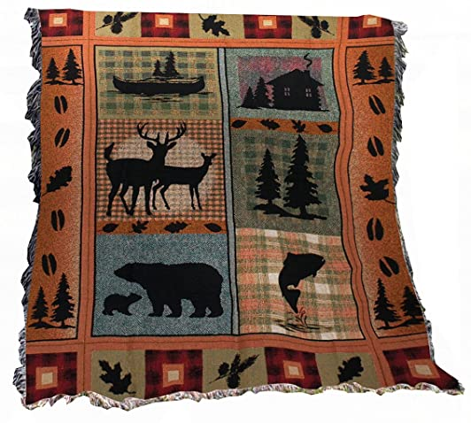Mountain Cabin Blanket