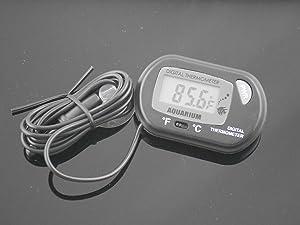 TOOGOO Digital LCD Fish Aquarium Marine Vivarium Thermometer
