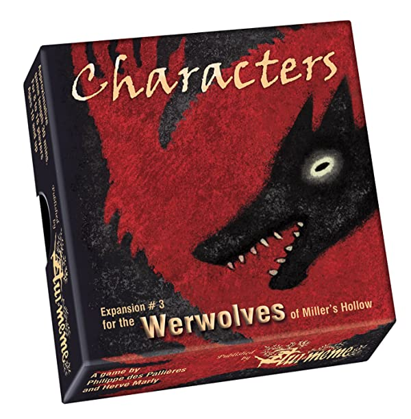 The Werewolves: Characters Expansion (Color: Multi-colored)