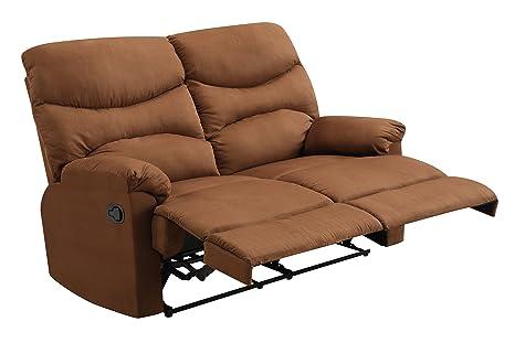 Glory Furniture G406-RL Reclining Loveseat, Chocolate
