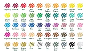 Crayola Colored Pencils, Assorted Colors, 50 Count, Gift (Color: Crayola 50 Ct. Colored Pencils, Tamaño: 50 Count)
