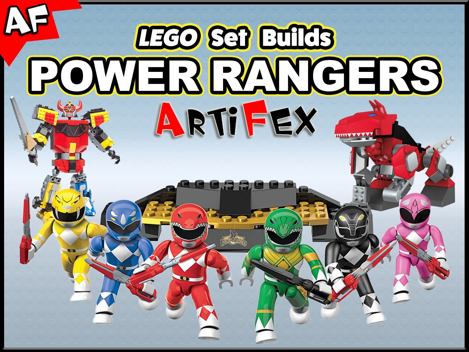 Clip: Lego Set Builds Power Rangers - Season 1