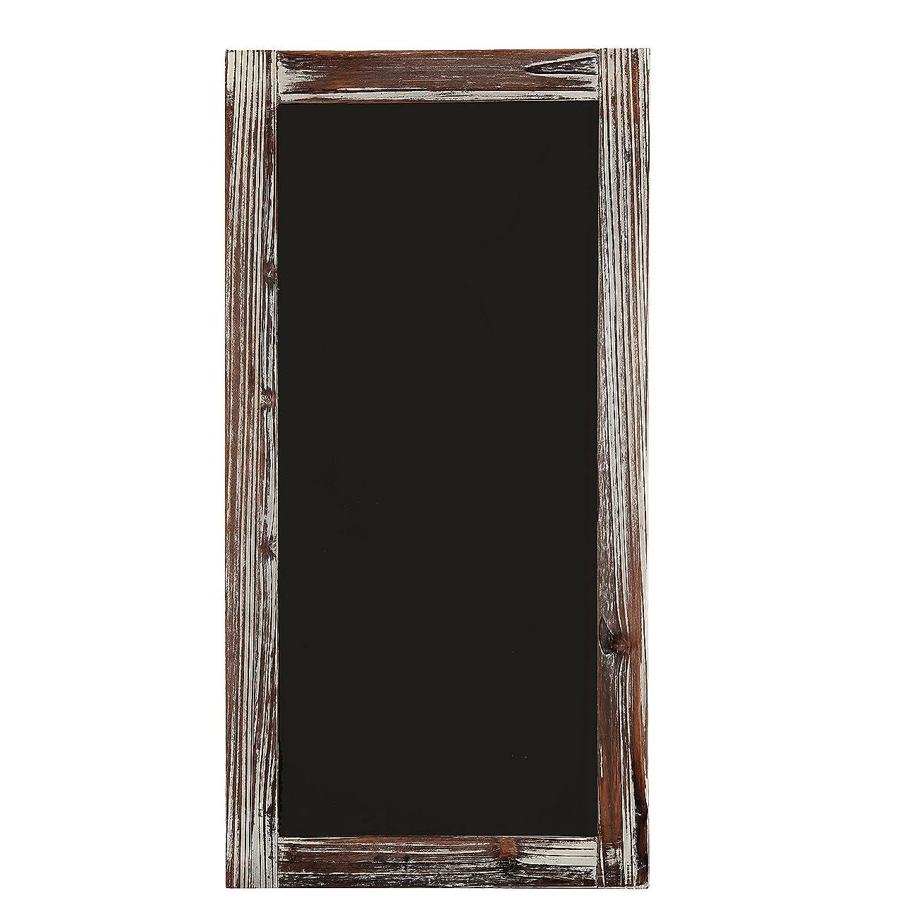 Rustic Style Wood Framed Erasable Blackboard / Chalk Message Memo Board / Restaurant Store Sign - MyGift® 2
