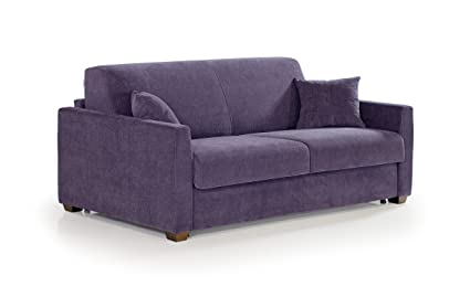 """Sofa bed 2 seater """"Julia"""" with reversible corner and with choice of coating fully removable"""