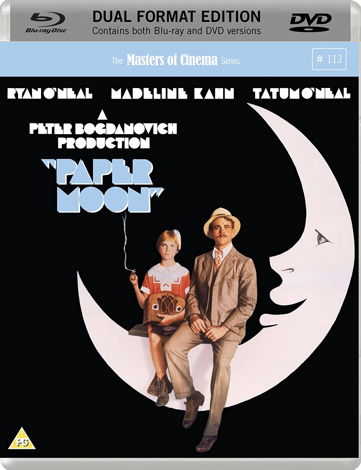 Paper Moon on DVD and blu ray disc