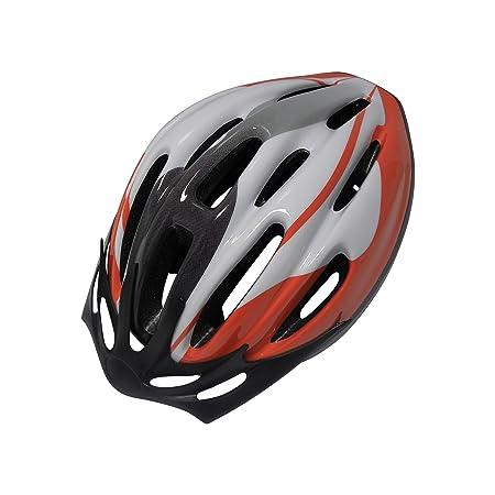 CARPOINT 5036460 Casque de vélo taille S/M 54-57cm (Rouge)