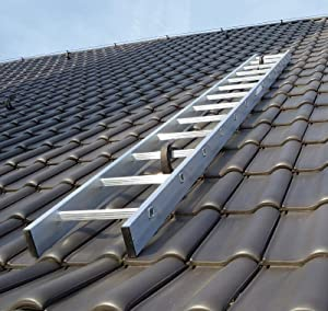 Kaminkehrerleiter Dachleiter Aluminium 18 Sprossen 5,04m  BaumarktKundenbewertung und Beschreibung