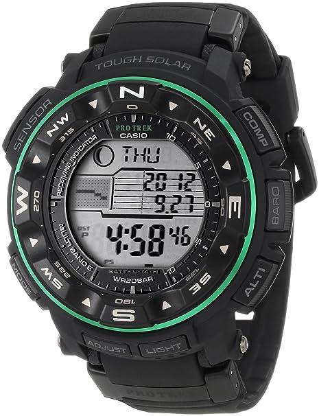 Casio Men's PRW2500-1B ProTrek Tough Solar Atomic Digital Watch-奢品汇 | 海淘手表 | 腕表资讯