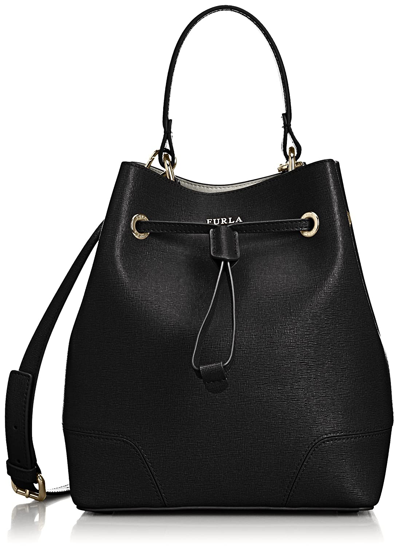 Amazon.co.jp: [フルラ] Furla ステイシードローストリングショルダーバッグ BEH3B30 O6000772444 (ブラック): シューズ&バッグ:通販