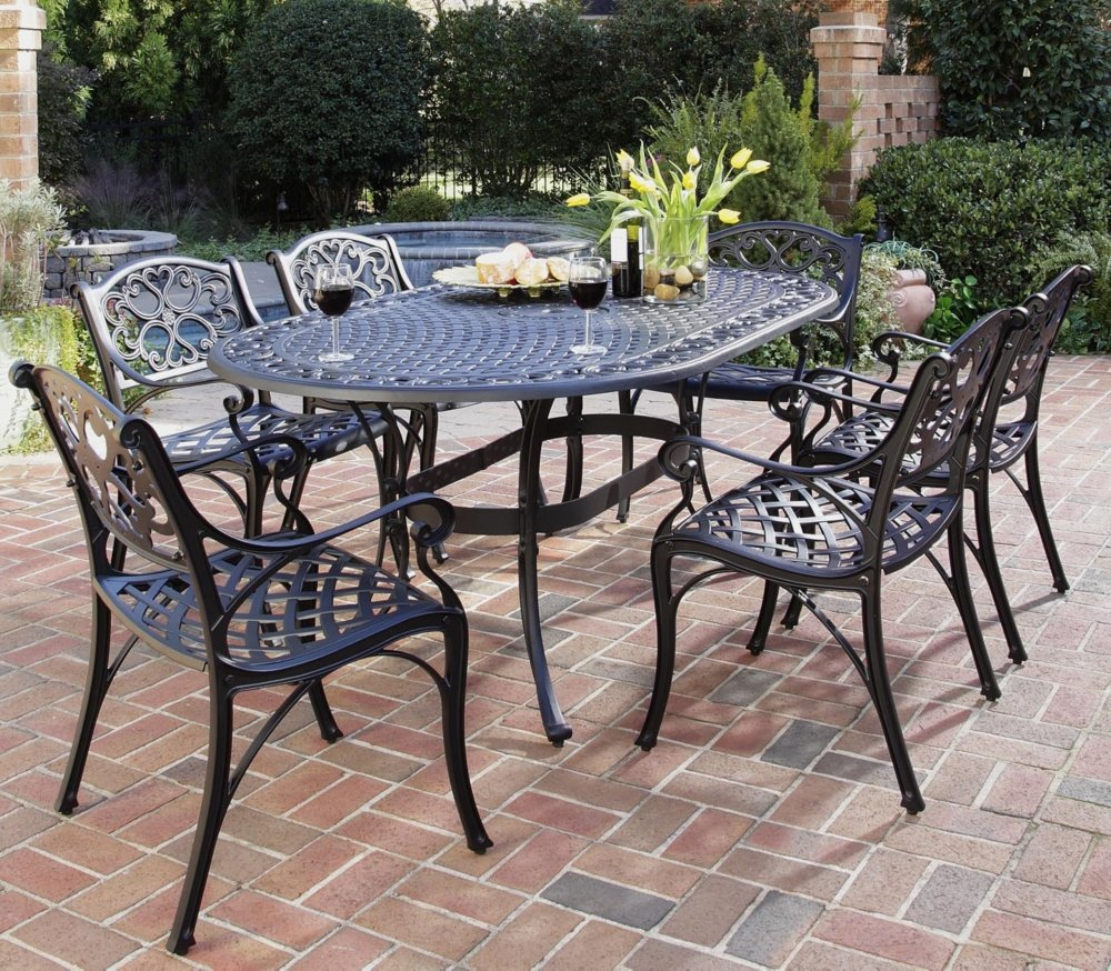 Home Styles Biscayne Outdoor Dining Furniture Set