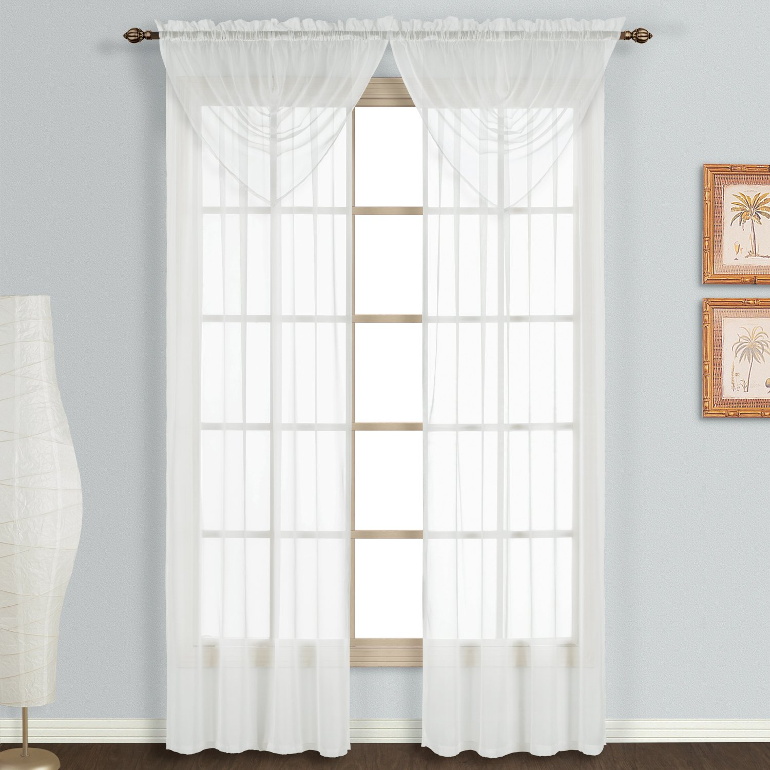 sheer window panels 108 images