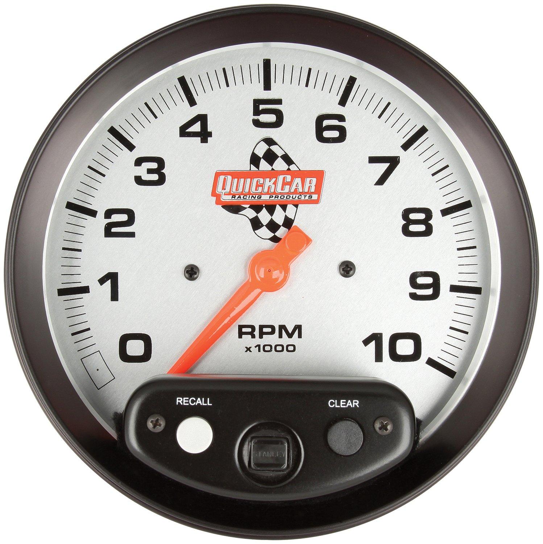 QuickCar Racing Products 611-6001 5 Diameter Tachometer Gauge