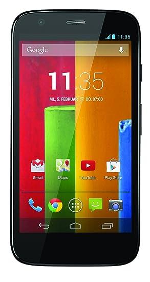 "Motorola Moto G - Smartphone Android (�cran 4.5"""", appareil photo 5 Mp, 8 GB, Quad-Core 1.2 GHz) - NOIR"