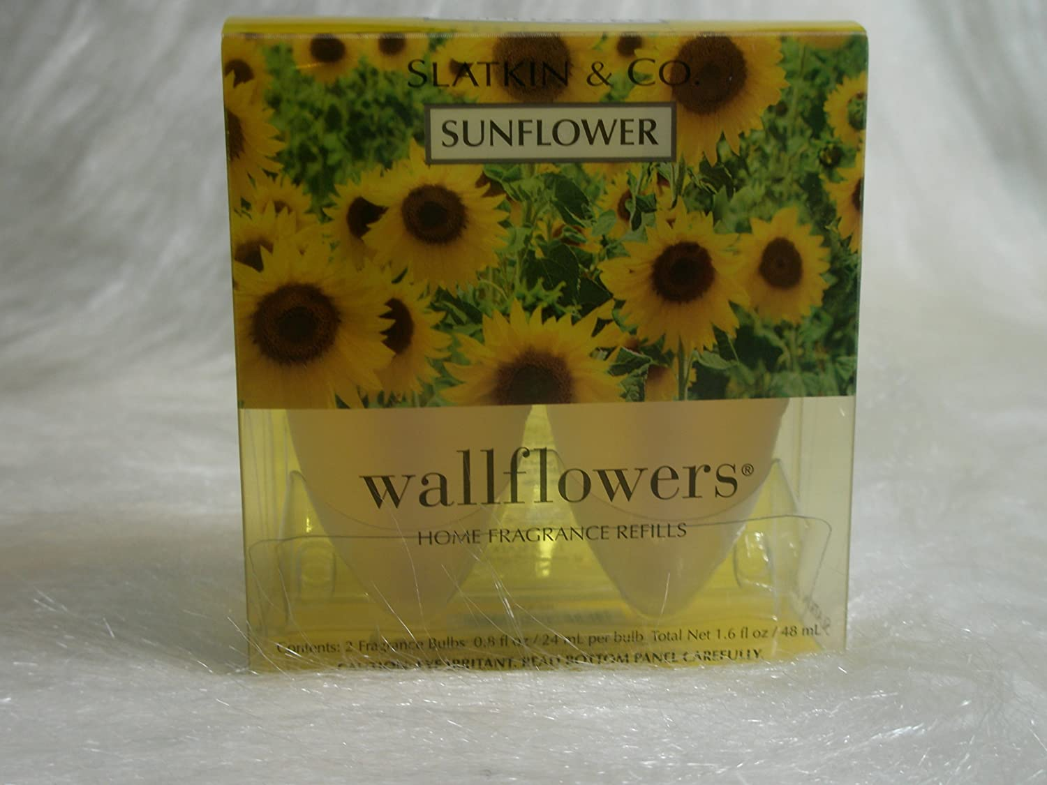 Bath & Body Works Slatkin & Co. Sunflower Wallflower Home Fragrance Refills enovo hi q medical teaching model 26cm body trunk model anatomical organ model of human body system