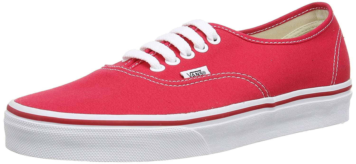 Vans U AUTHENTIC RED Unisex-Erwachsene