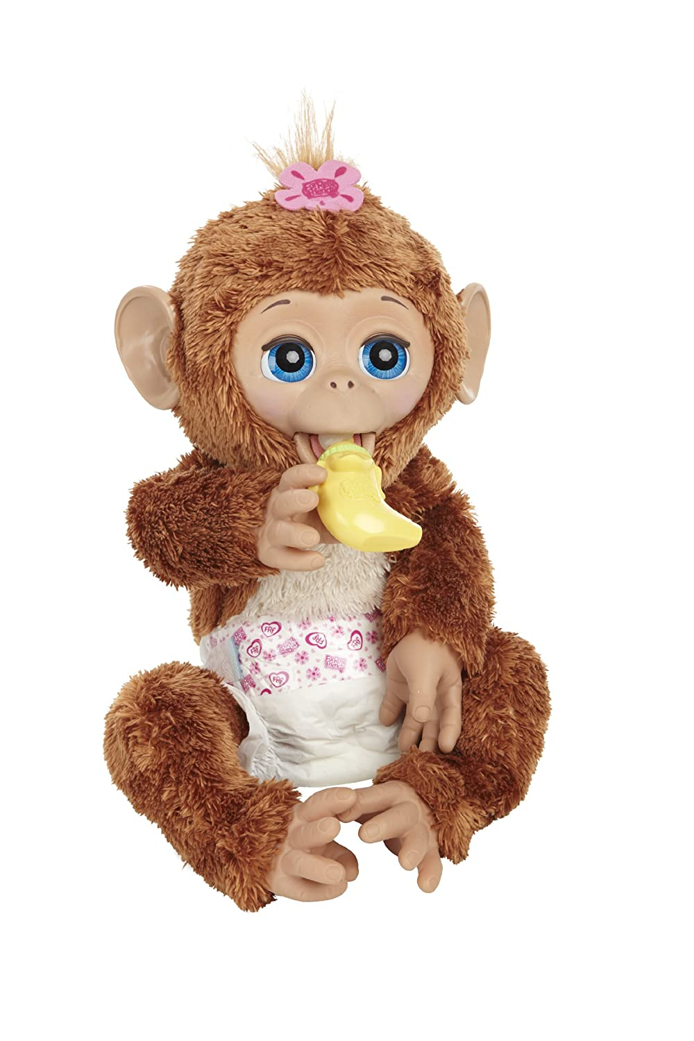 Top Furreal Friends Toys : New furreal friends cuddles my giggly monkey animal toy