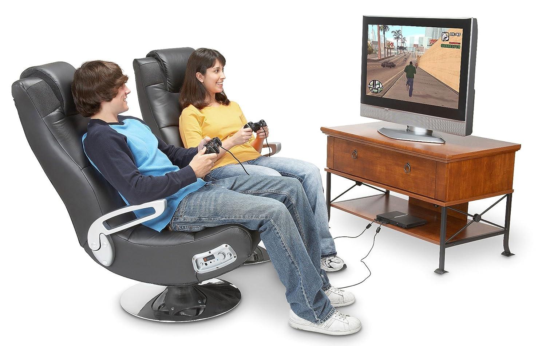 Ace bayou x rocker 5127401 pedestal video gaming chair Silla x rocker 51491 extreme iii 2 0 gaming rocker chair with audio system