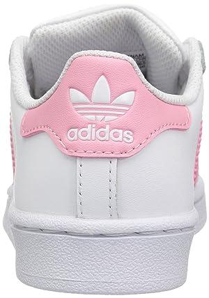 adidas Originals Kids' Superstar, White/Clear Light Pink/Metallic Gold, 13K M US Little Kid (Color: White/Clear Light Pink/Metallic Gold, Tamaño: 13 Little Kid)