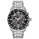Citizen Men's Eco-Drive Perpetual Chrono Atomic Timekeeping Watch with Day/Date,  AT4008-51E (Color: Two-Tone Stainless Steel/Black, Tamaño: One Size)