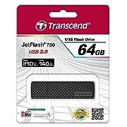 Post image for Transcend JetFlash 780 64GB für 49€ – extrem schneller USB 3.0 Stick