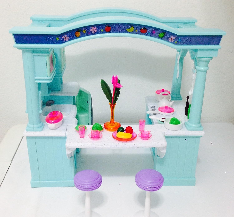 Dollhouse Doll Furniture Barbie Princess Playset TOY House